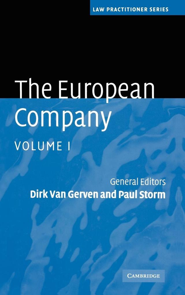The European Company 2 Volume Hardback Set The European Comp als Buch