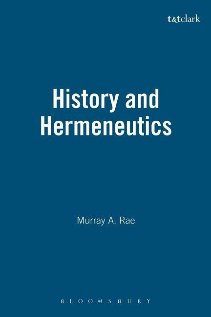 History and Hermeneutics als Buch