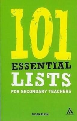 101 Essential Lists for Secondary Teachers als Taschenbuch