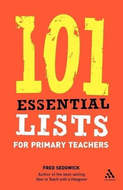 101 Essential Lists for Primary Teachers als Taschenbuch