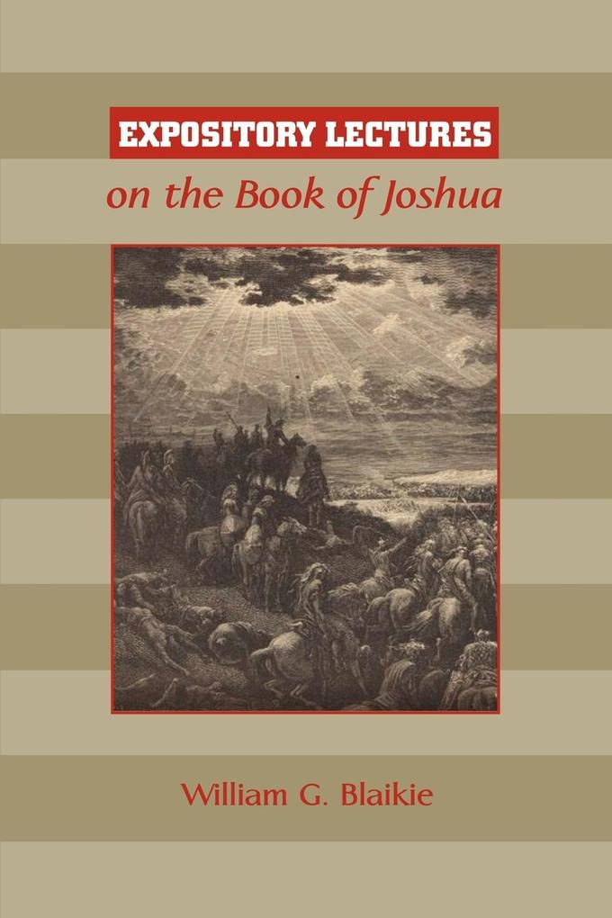 Expository Lectures on the Book of Joshua als Taschenbuch