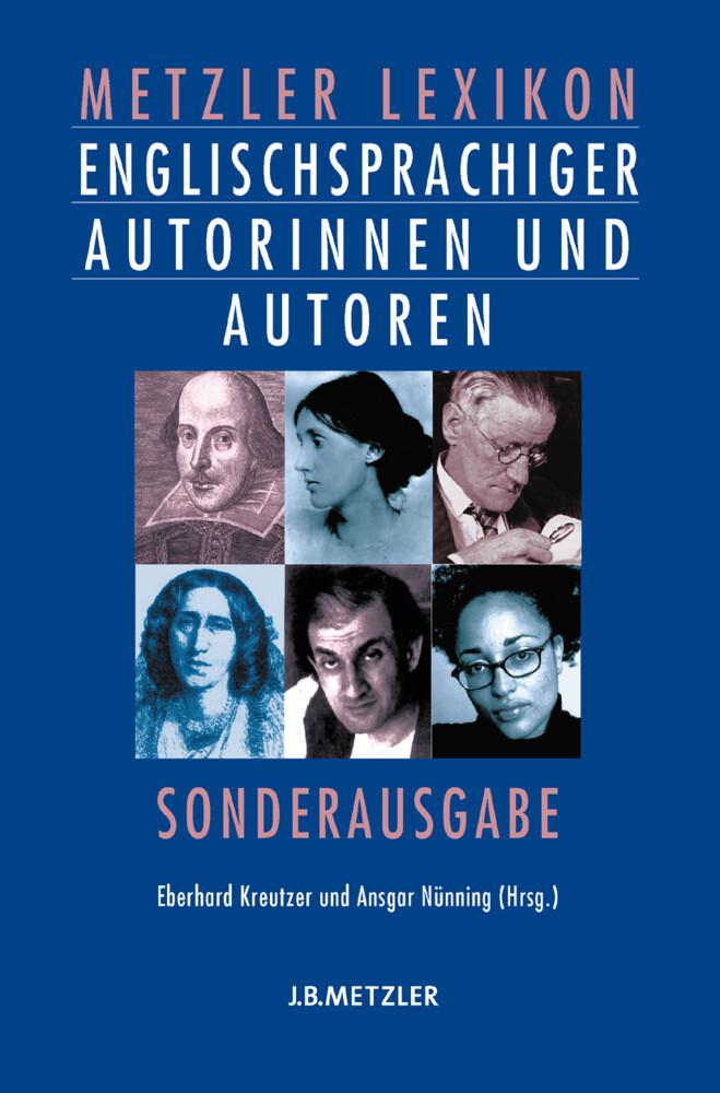 Metzler Lexikon englischsprachiger Autorinnen und Autoren als Buch