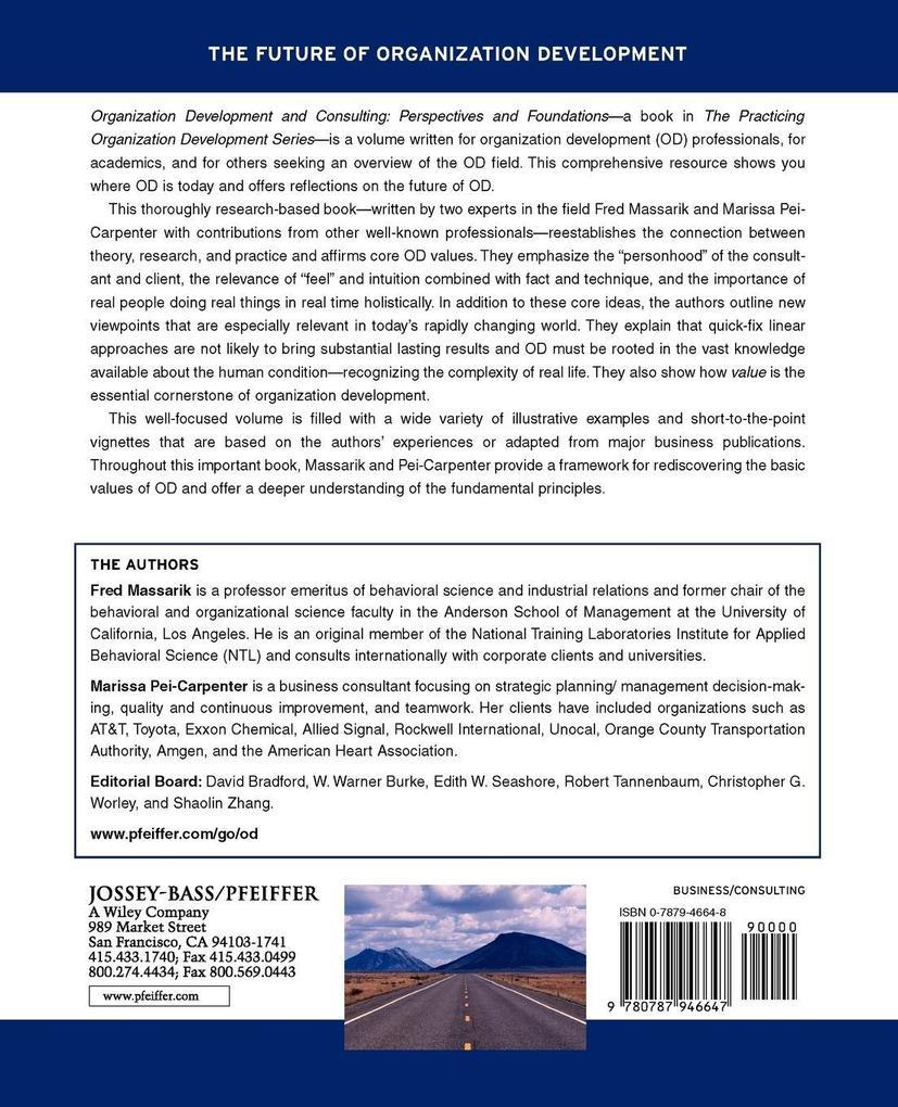 Organization Development and Consulting als Taschenbuch