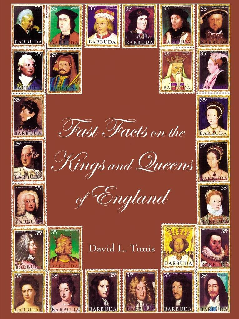 Fast Facts on the Kings and Queens of England als Taschenbuch