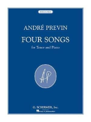 4 Songs: For Tenor and Piano als Taschenbuch