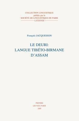Le Deuri: Langue Tibeto-Birmane D'Assam als Taschenbuch