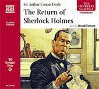 The Return of Sherlock Holmes als Hörbuch