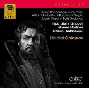 Simon Boccanegra/Il barbiere/Boris Godunow/+ als CD
