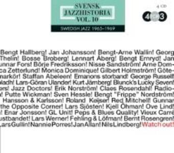 Swedish Jazz History Vol.10 als CD