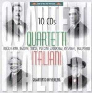 Quartetti Italiani Von Boccherini bis Malipiero als CD