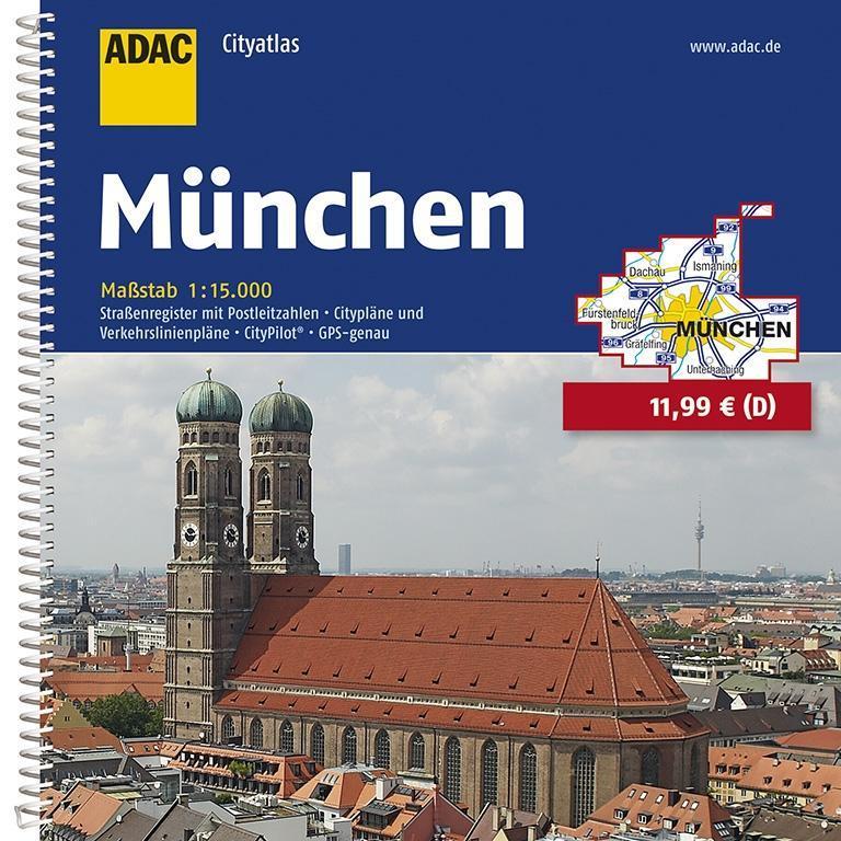 ADAC Cityatlas München 1:15 000 als Buch