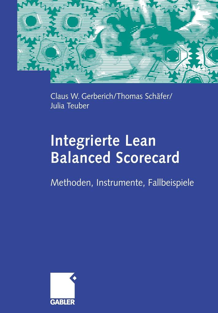 Integrierte Lean Balanced Scorecard als Buch