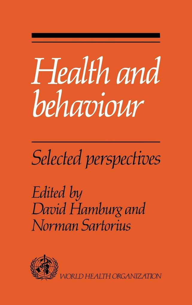 Health and Behaviour als Buch