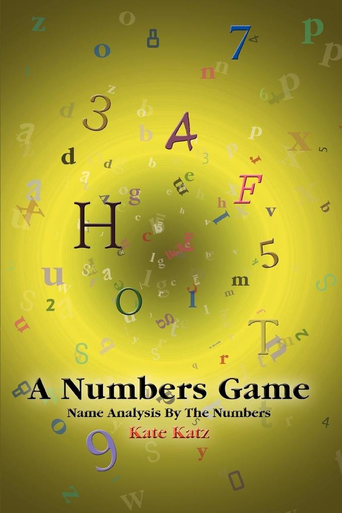 A Numbers Game: Name Analysis by the Numbers als Taschenbuch