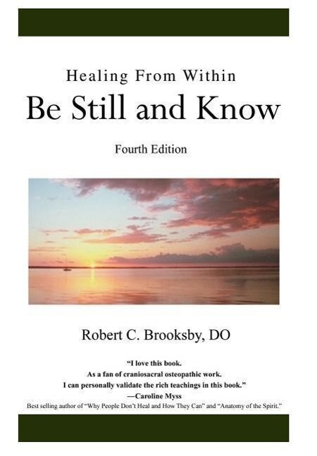 Healing From Within Be Still and Know als Buch