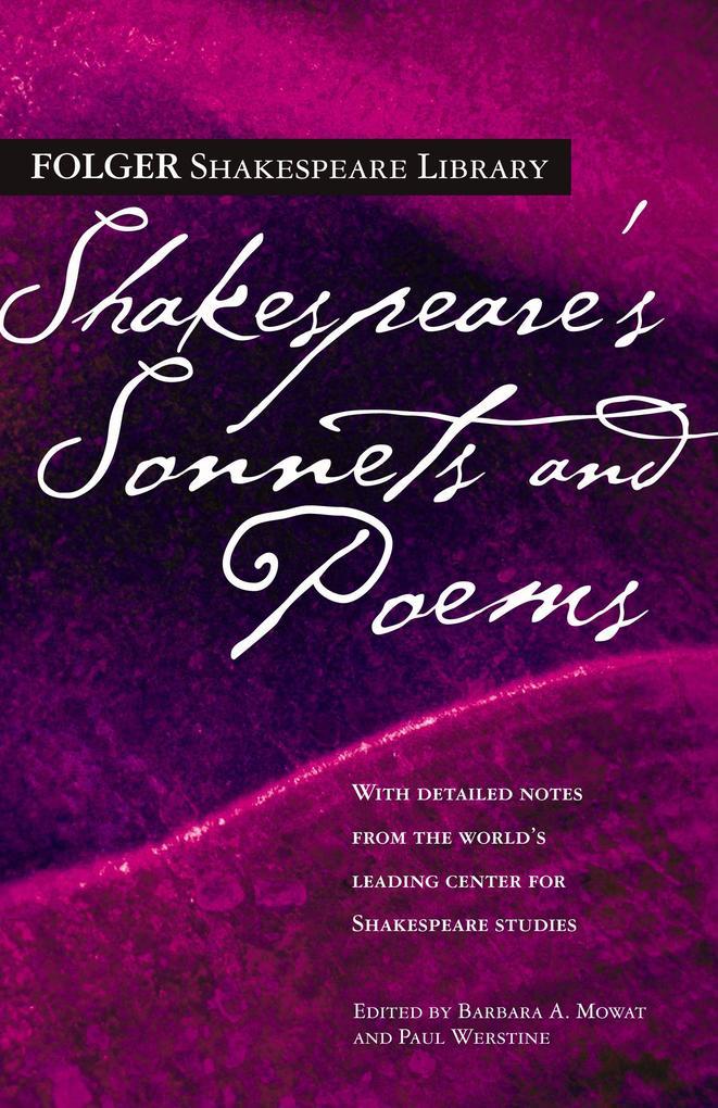 Shakespeare's Sonnets and Poems als Taschenbuch