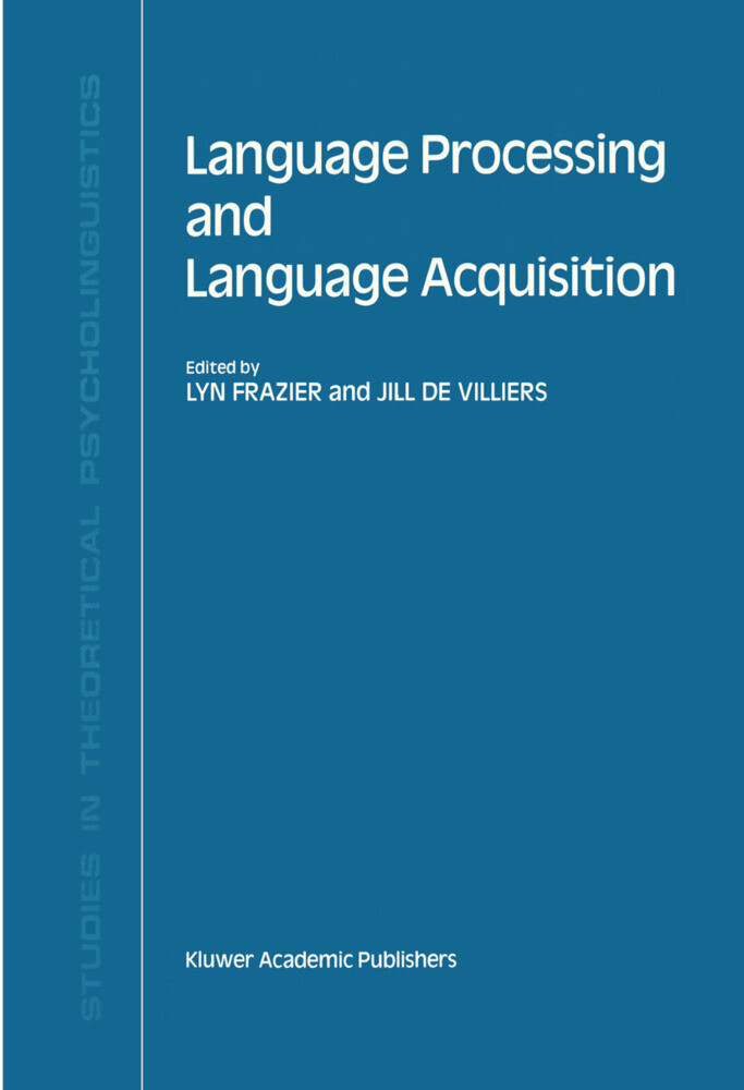 Language Processing and Language Acquisition als Buch
