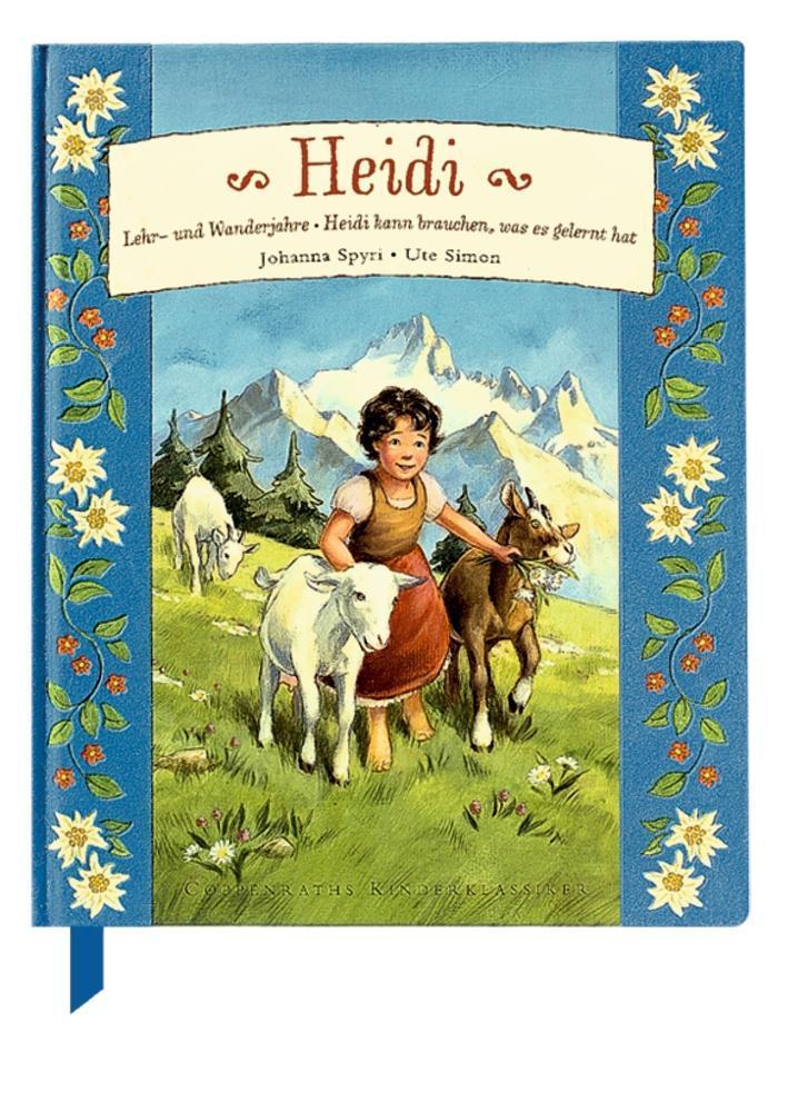 Heidi als Buch