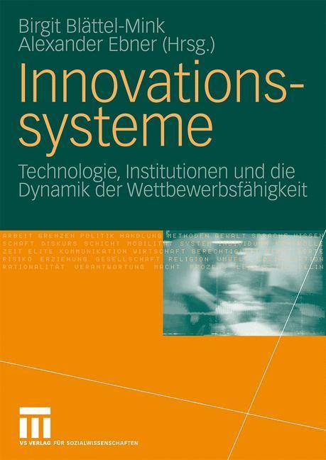Innovationssysteme als Buch