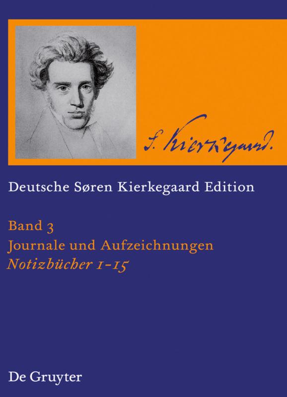 Sören Kierkegaard Notizbücher 1 - 15 als Buch