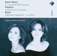 Der Karneval Der Tiere/Konzert für 2 Klaviere/+ als CD