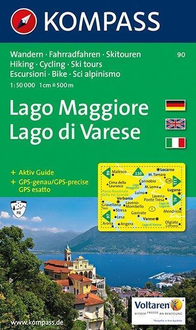 Lago Maggiore / Lago di Varese 1 : 50 000 als Buch