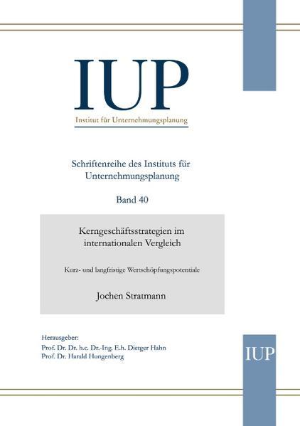 Kerngeschäftsstrategien im internationalen Vergleich als Buch