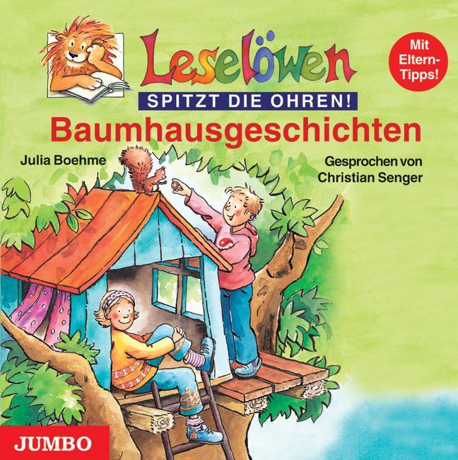 Leselöwen Baumhausgeschichten. CD als Hörbuch