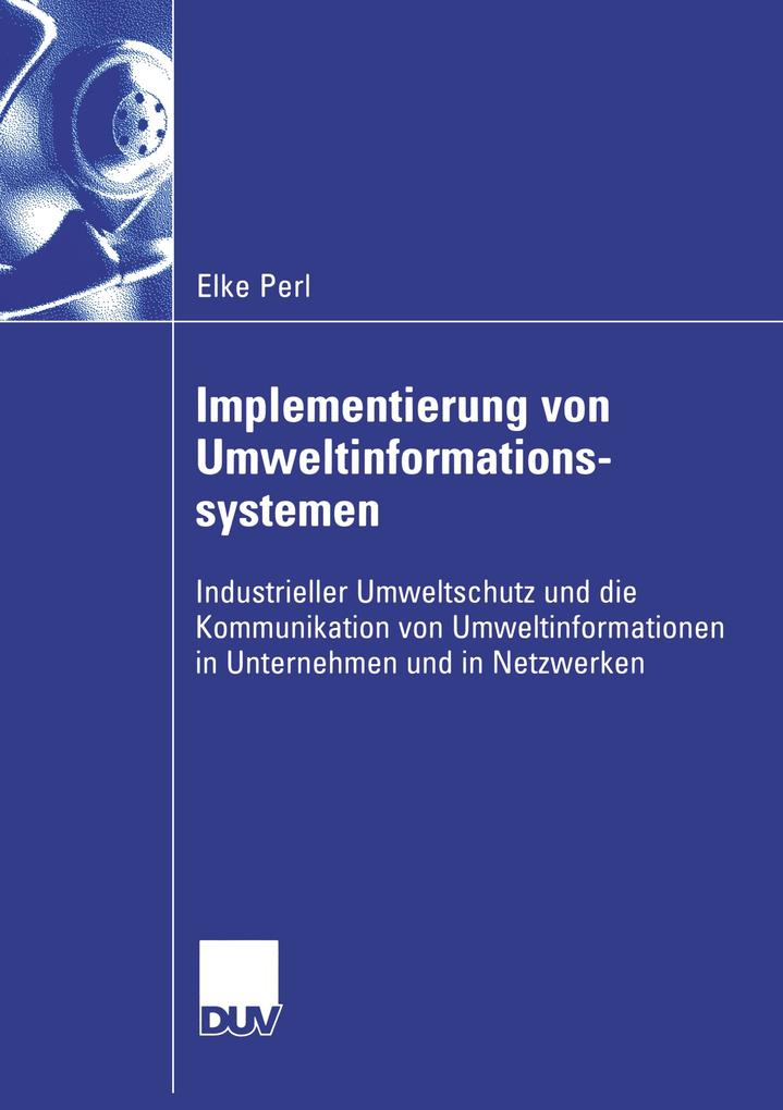 Implementierung von Umweltinformationssystemen als Buch