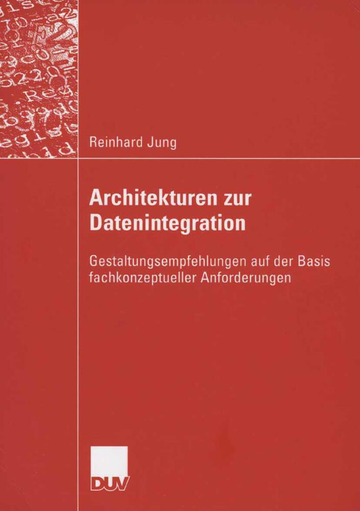 Architekturen zur Datenintegration als Buch