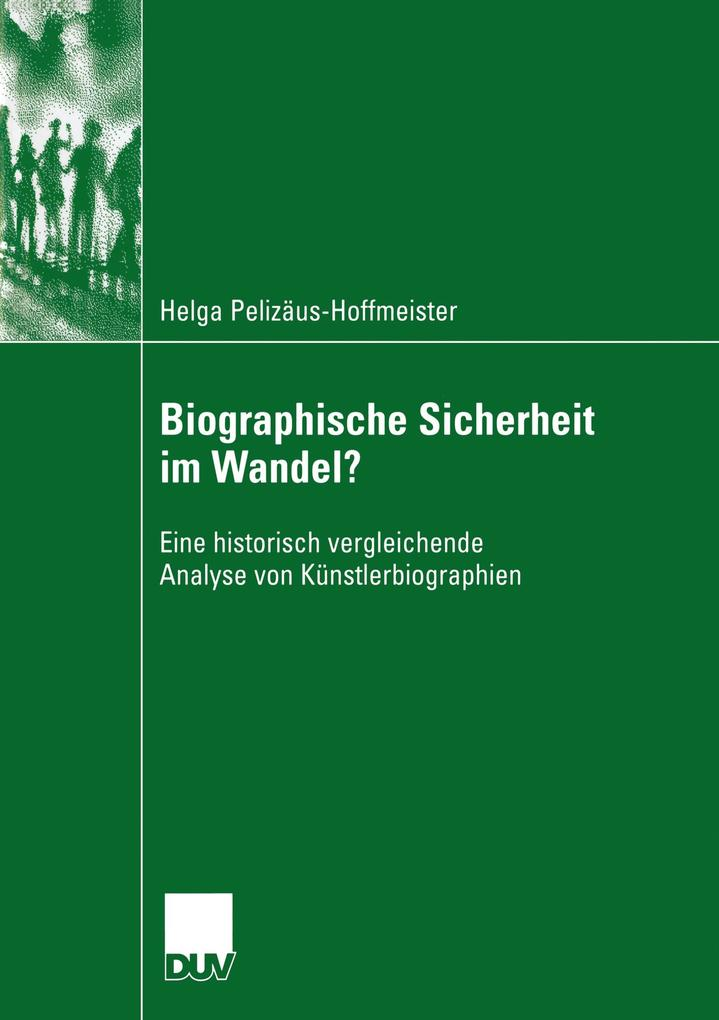 Biographische Sicherheit im Wandel? als Buch