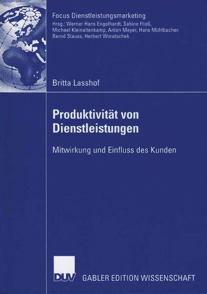 Produktivität von Dienstleistungen als Buch