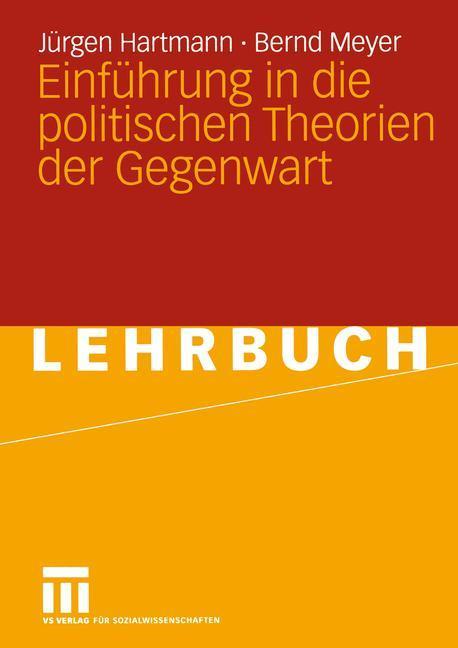 Einführung in die politischen Theorien der Gegenwart als Buch