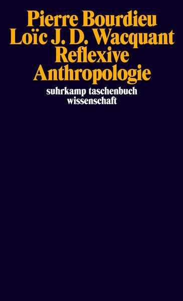 Reflexive Anthropologie als Taschenbuch