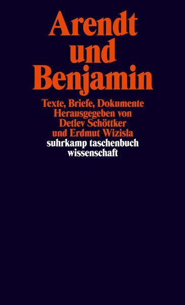 Arendt und Benjamin als Taschenbuch