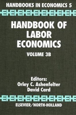 Handbook of Labor Economics als Buch