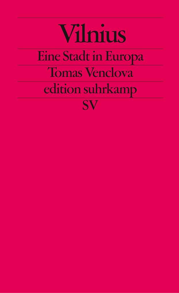 Vilnius als Taschenbuch