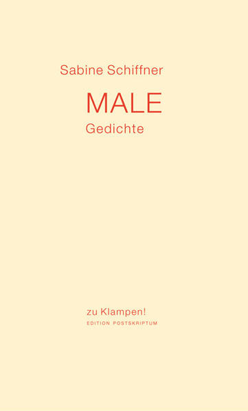 Male als Buch