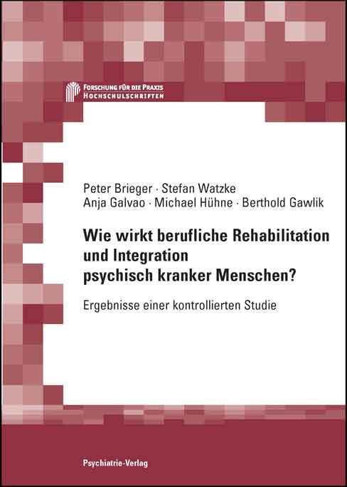 Wie wirkt berufliche Rehabilitation und Integration psychisch kranker Menschen als Buch