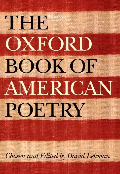 The Oxford Book of American Poetry als Buch