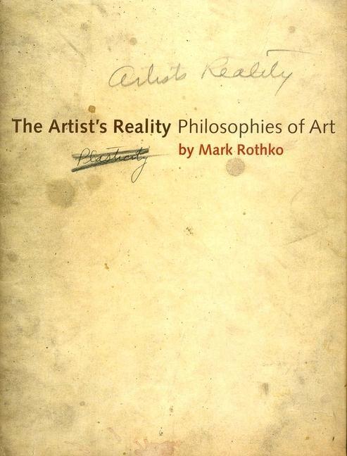Artist's Reality als Buch