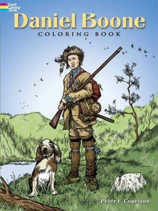 Daniel Boone Coloring Book als Taschenbuch