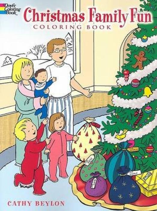 Christmas Family Fun Coloring Book als Taschenbuch