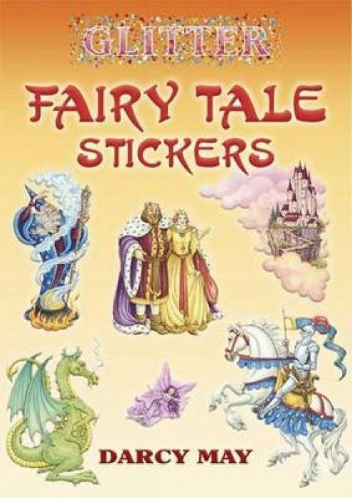 Glitter Fairy Tale Stickers als Taschenbuch