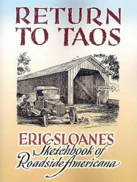Return to Taos: Eric Sloane's Sketchbook of Roadside Americana als Taschenbuch