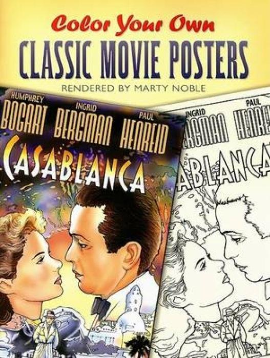 Color Your Own Classic Movie Posters als Taschenbuch