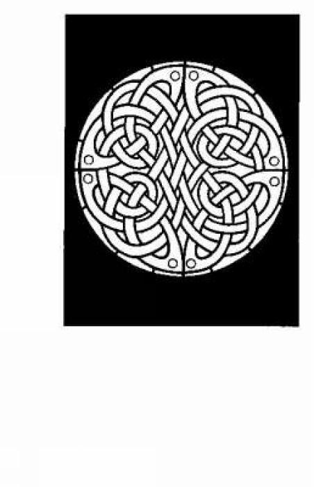 Celtic Knotwork Stained Glass Colouring Book als Taschenbuch