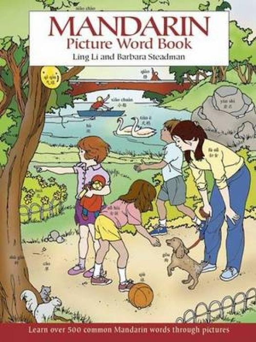 Mandarin Picture Word Book als Taschenbuch