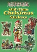 Glitter Old-Time Christmas Stickers