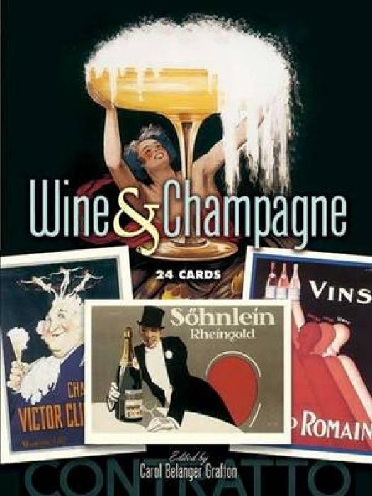 Wine & Champagne: 24 Cards als Taschenbuch